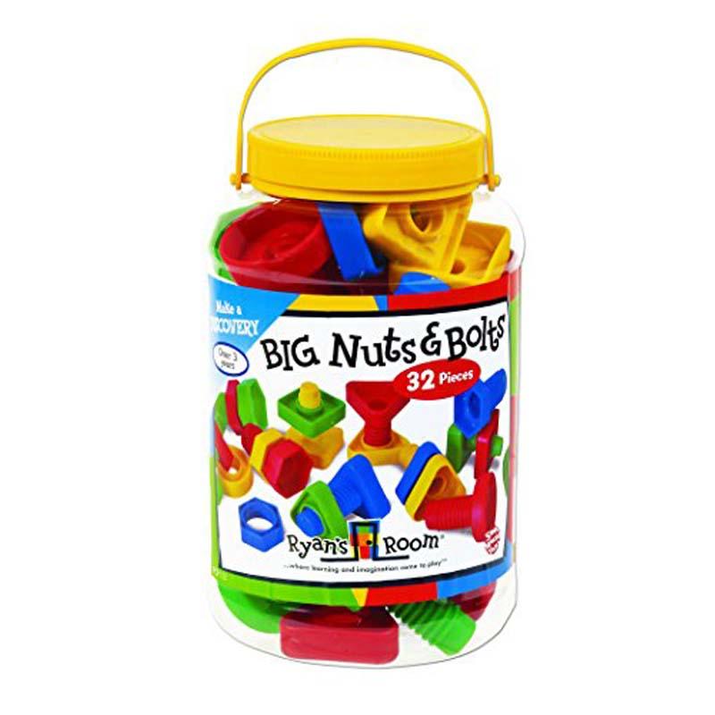 Big Nuts & Bolts - 32 pcs