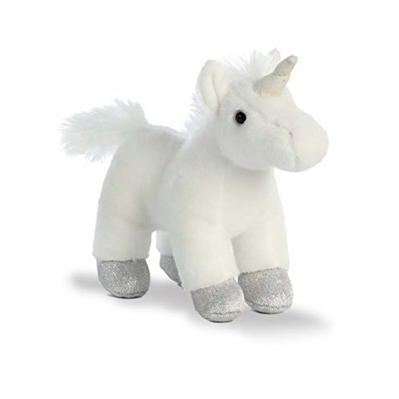 "7.75"" White Unicorn - Mystic"