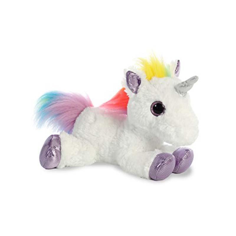 "12"" Flopsie - Rainbow Unicorn"