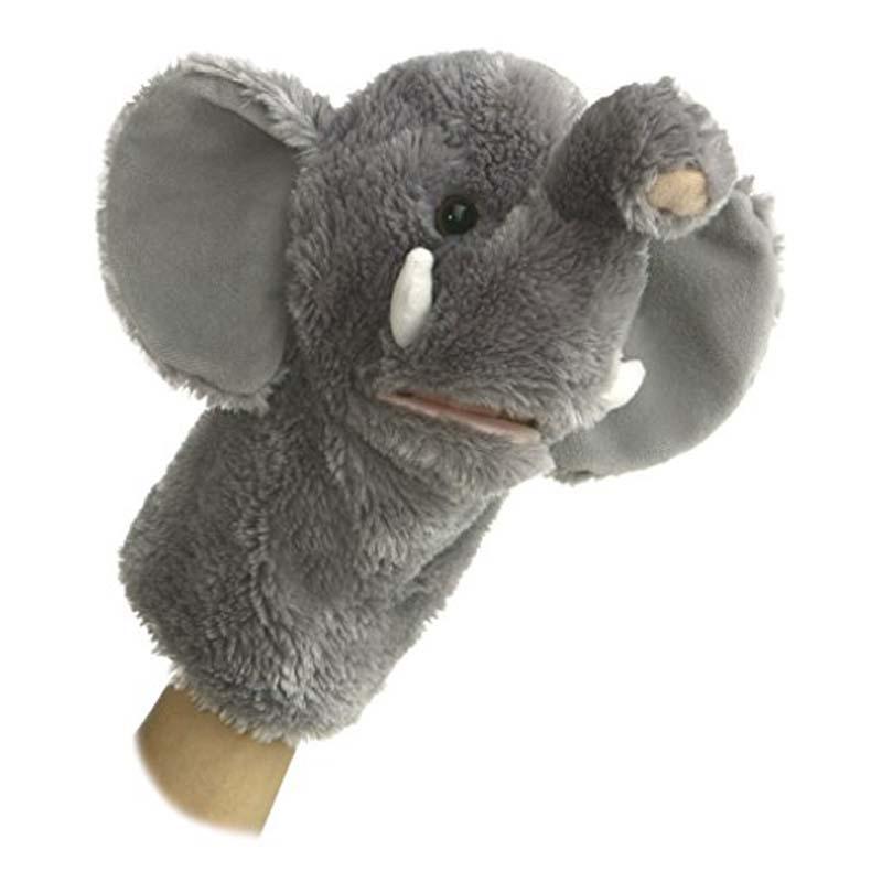 "10"" Hand Puppet - Elephant"