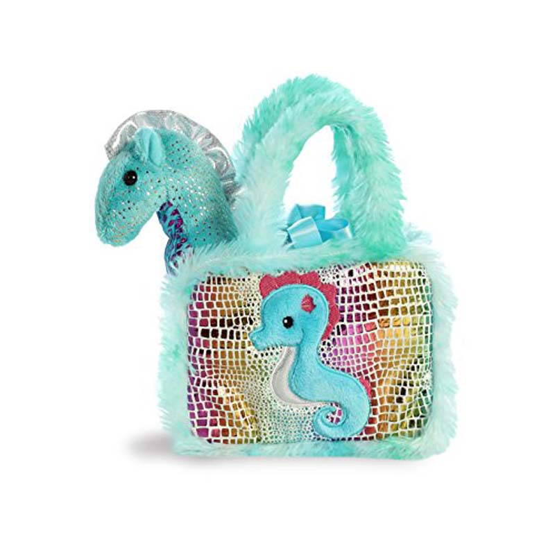 "7"" Fancy Pals Pet Carrier -  Seahorse"