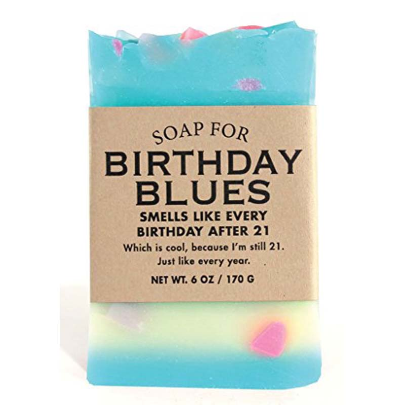 Birthday Blues Soap
