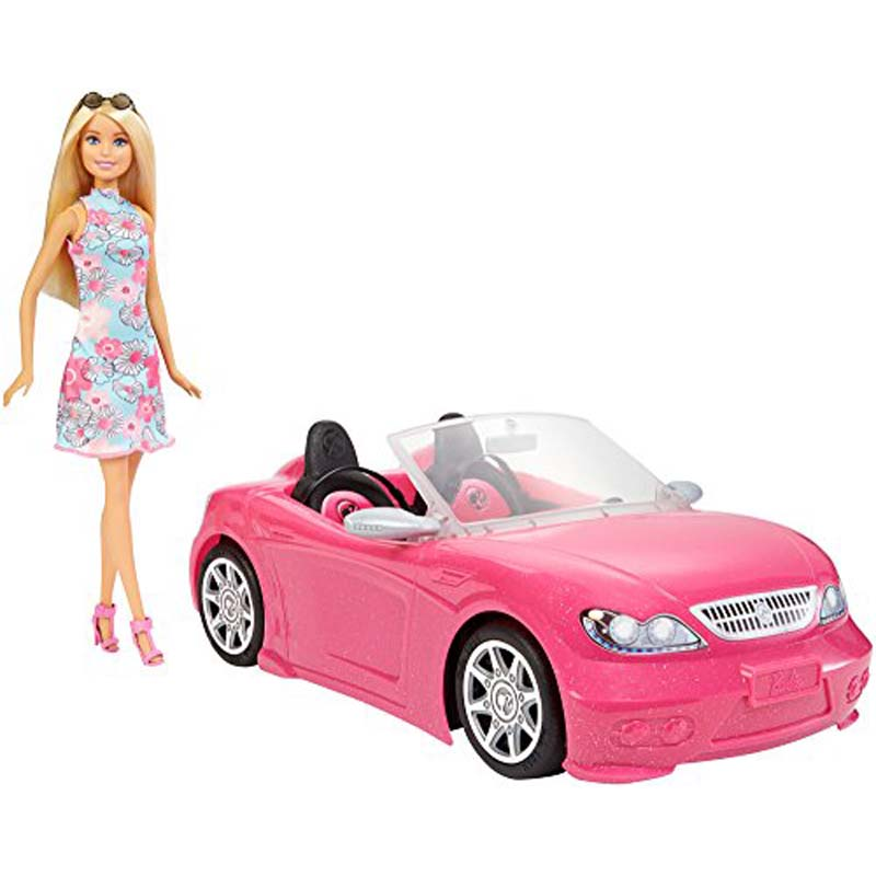 Barbie: Doll and Car
