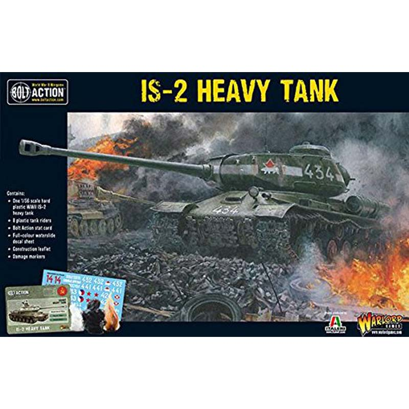 Bolt Action: Soviet Is-2 Heavy Tank (Plastic)