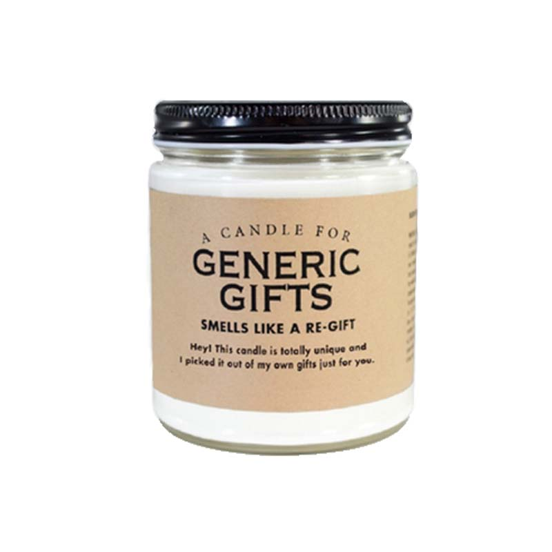 7 oz. Generic Gifts Candle