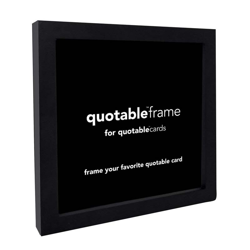 Quotable 5X5 Frame Black For Quotable Cards