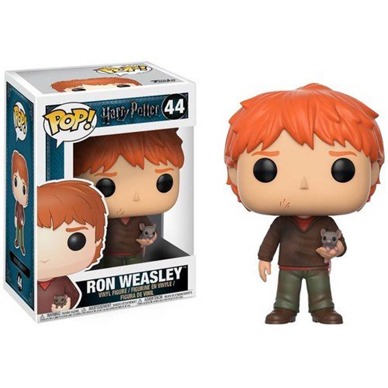 POP Harry Potter: Ron Weasley w/ Scabbers