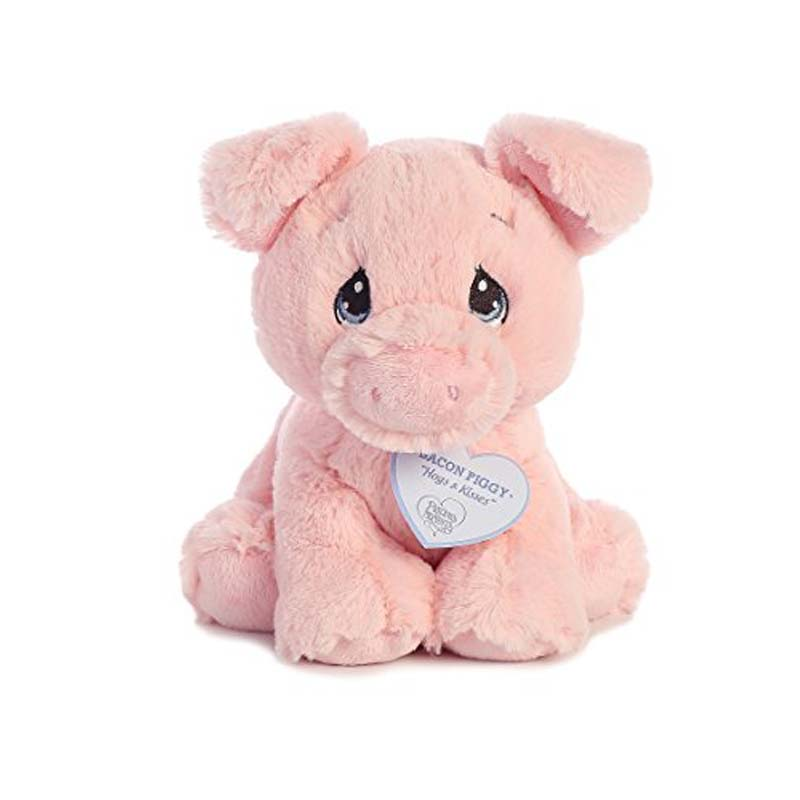 "8.5"" Precious Moments Pig - Bacon Piggy"