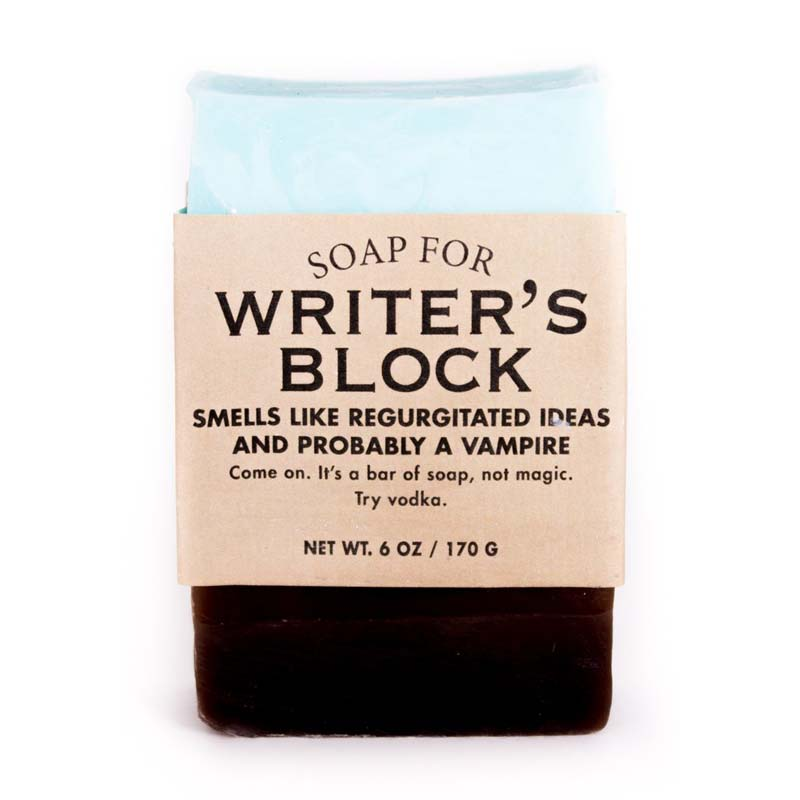 Writer's Block Soap