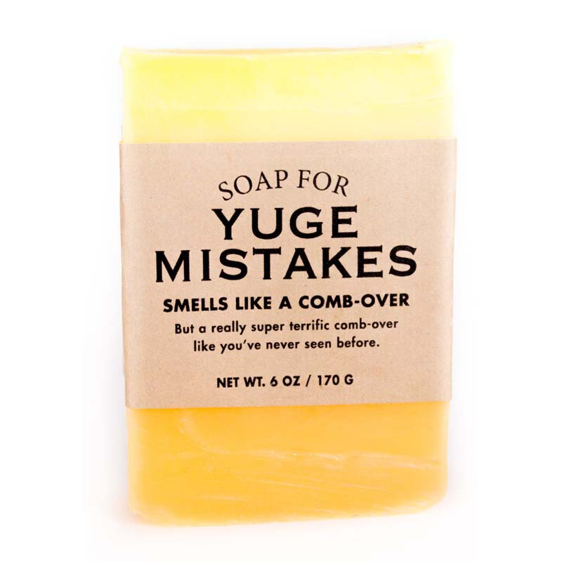 Yuge Mistakes Soap