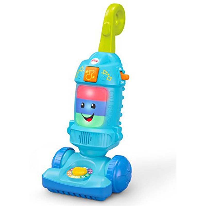 Fisher-Price - Laugh and Learn - Light-Up Learning Vacuum