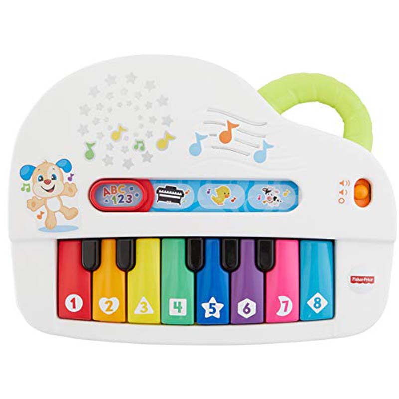 Fisher-Price - Laugh and Learn Silly Sounds Light-Up Piano