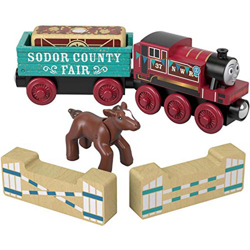 Fisher-Price - Thomas and Friends Wood Rosie'S Prize Pony