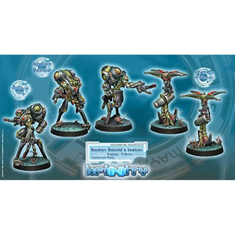 Infinity: Combined Army Ikadron Batdroids And Imetron