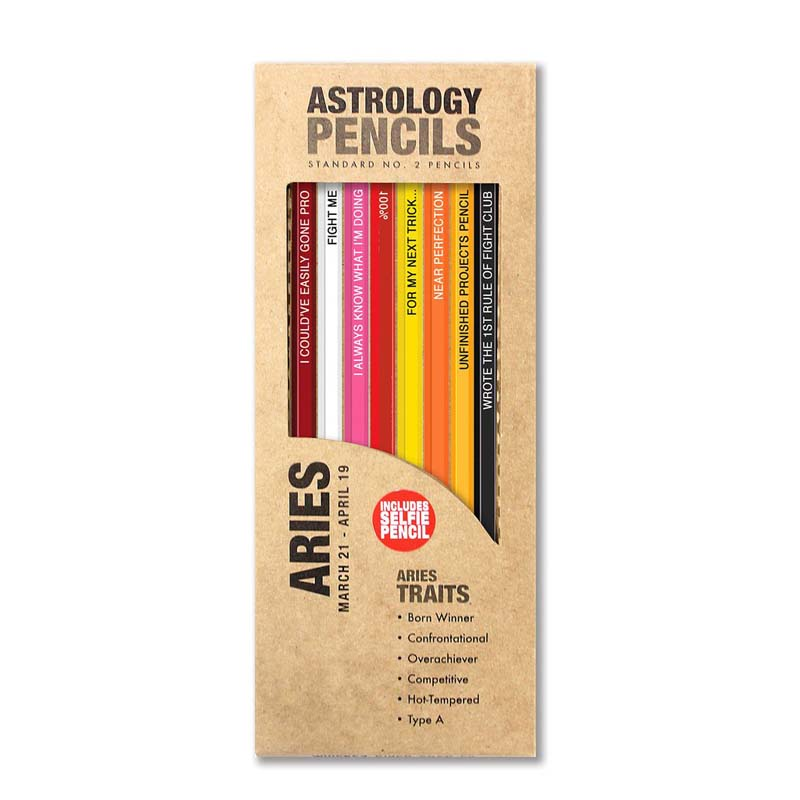 Astrology Aries - Pencils