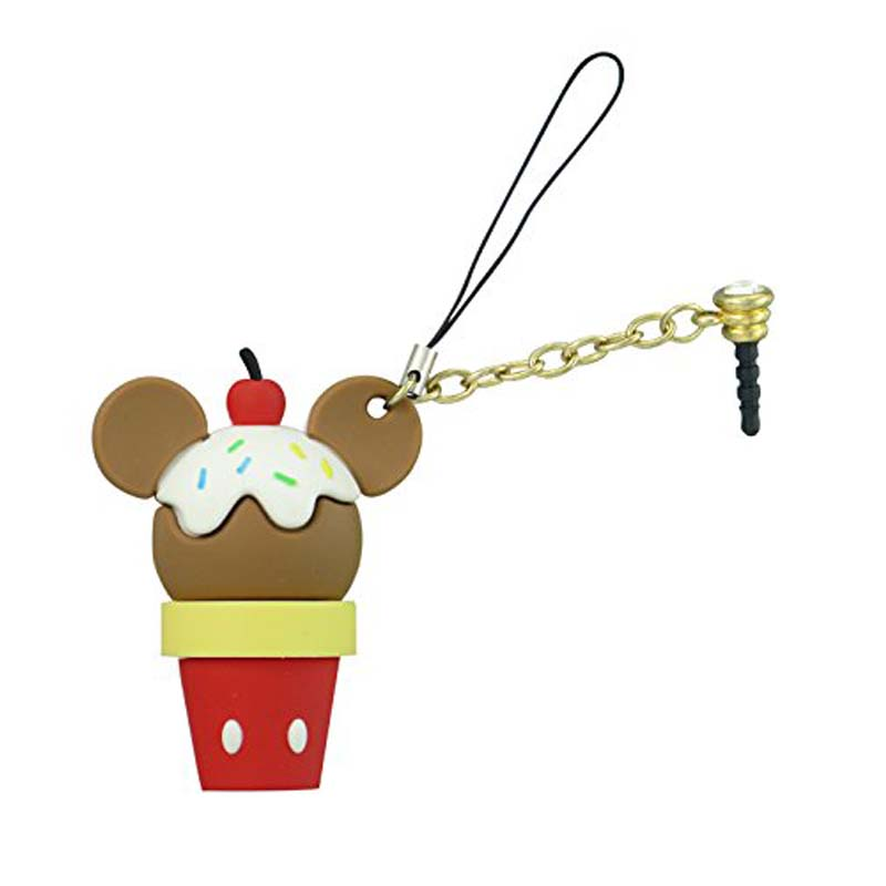 D-Lish Treats Phone Charm Keyring - Mickey Ice Cream