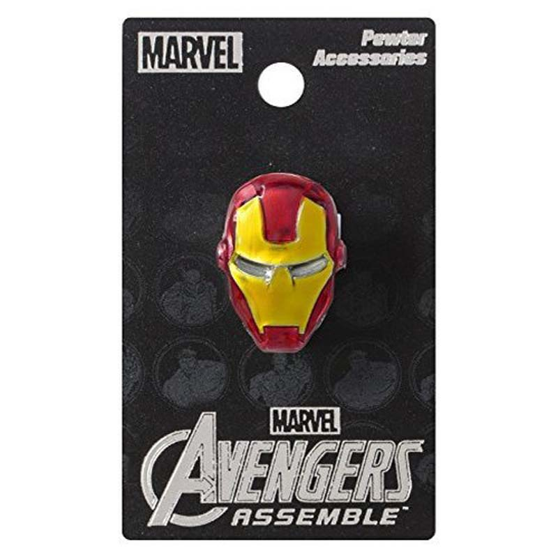 Pewter Colored Lapel Pin - Iron Man
