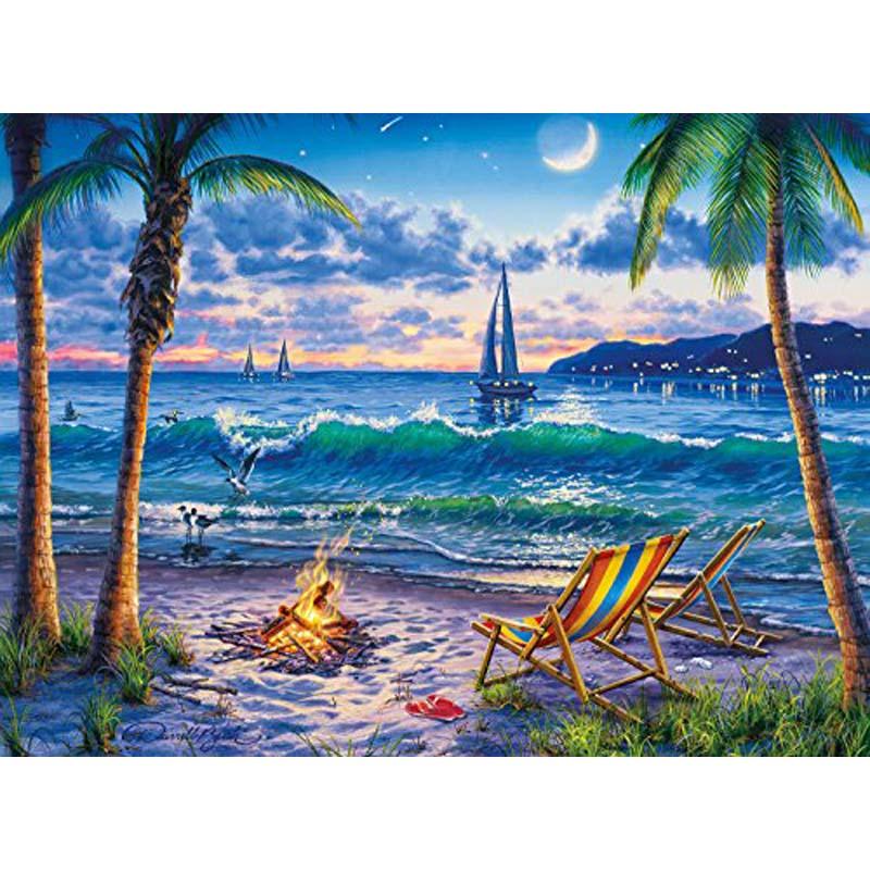1000 Piece Jigsaw Puzzle - Coastal Twilight