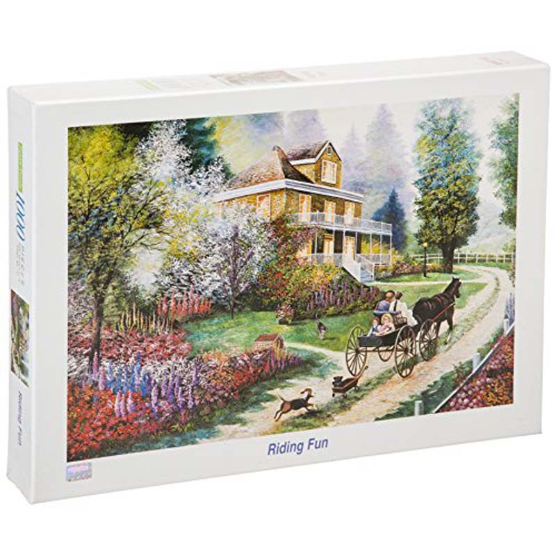 1000 Piece Puzzle: Riding Fun