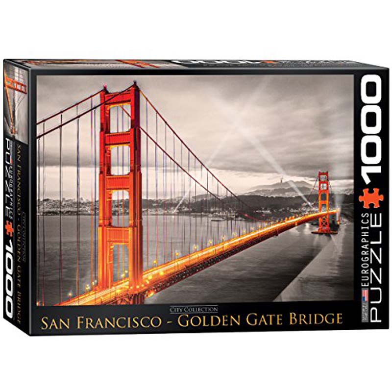 1000 Piece Puzzle - San Francisco - Golden Gate Bridge