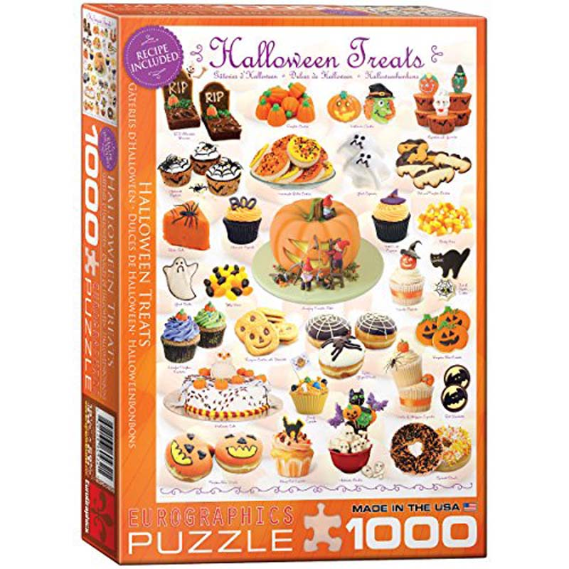 1000 Piece Puzzle - Halloween Treats