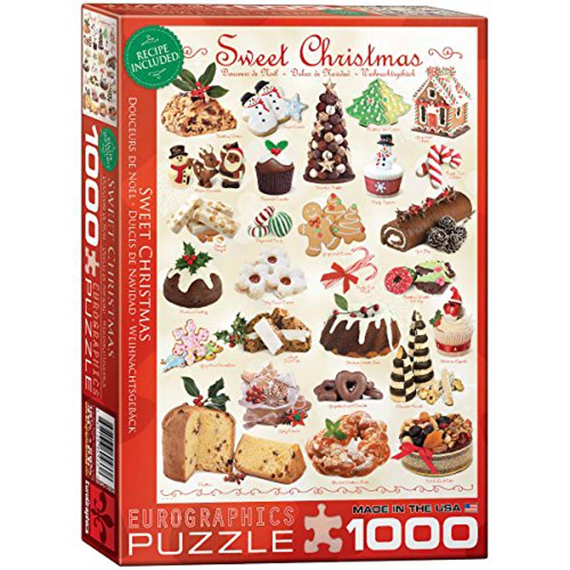 1000 Piece Puzzle - Sweet Christmas
