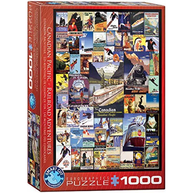 1000 Piece Puzzle - Canadian Pacific Railroad Adventures