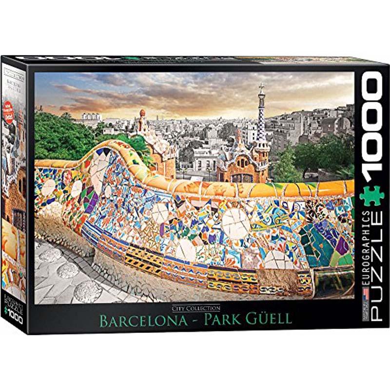 1000 Piece Puzzle - Barcelona Park Guell