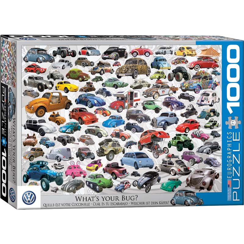1000 Piece Puzzle - What's your Bug?