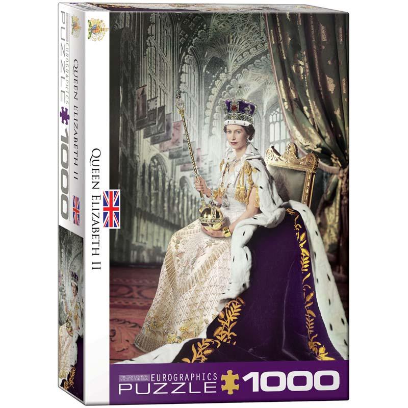 1000 Piece Puzzle - Queen Elizabeth II