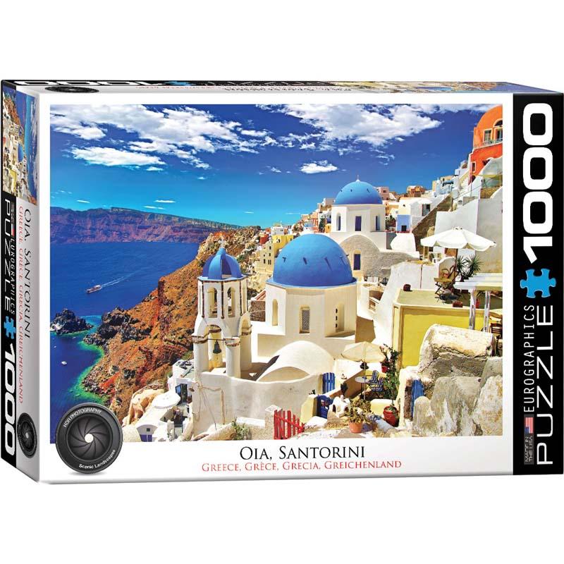1000 Piece Puzzle - Oia, Santorini Greece