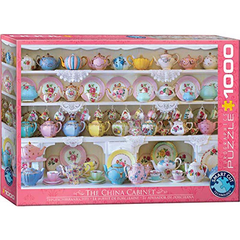 1000 Piece Puzzle - The China Cabinet