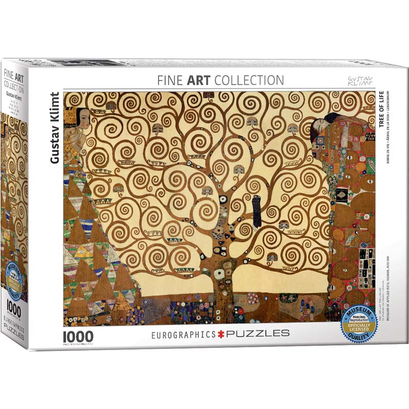 1000 Piece Puzzle - Tree of Life by Gustav Klimt