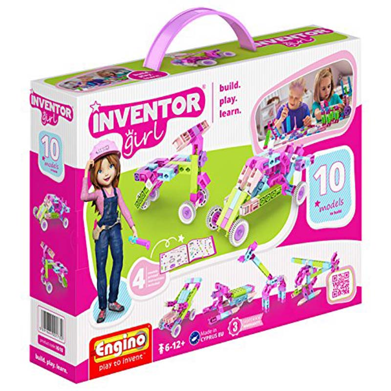 Engino - Inventor Girl 10 Models