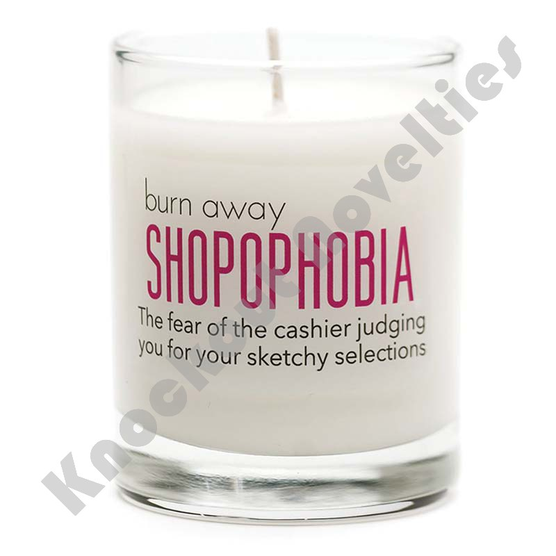SHOPOPHOBIA Candle