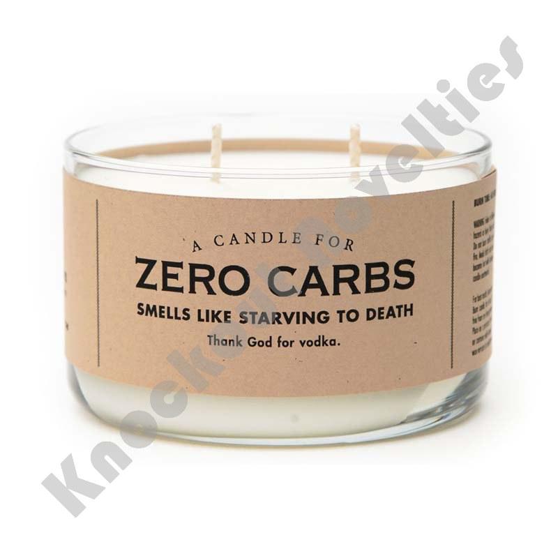 Zero Carbs Candle