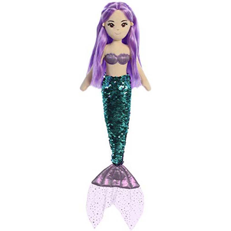"18"" Sequin Sparkles - Jenna - Mermaid"