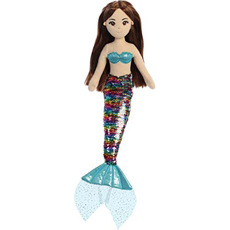 "18"" Sequin Sparkles - Miya - Mermaid"