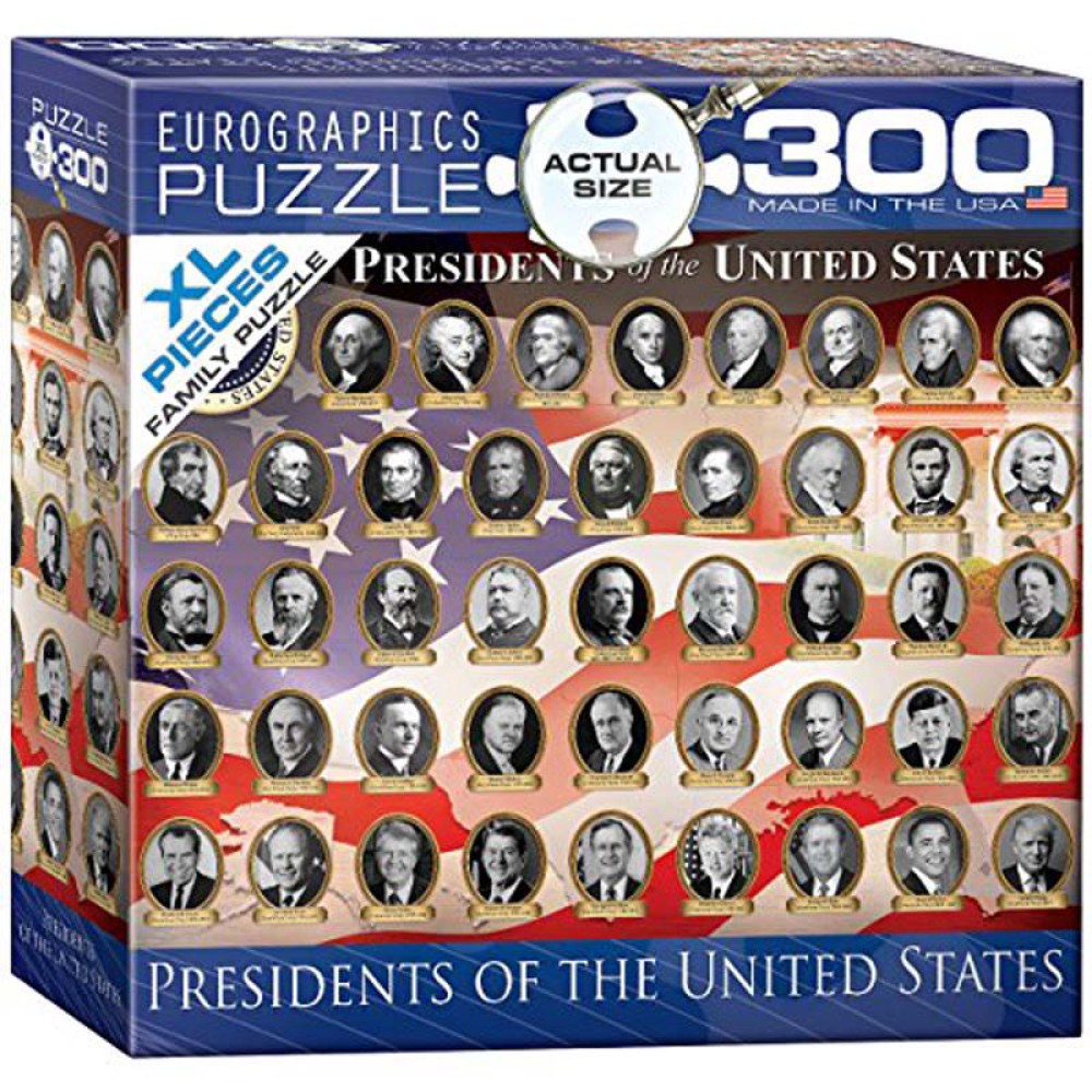 300 Piece Puzzle - Presidents of the United States