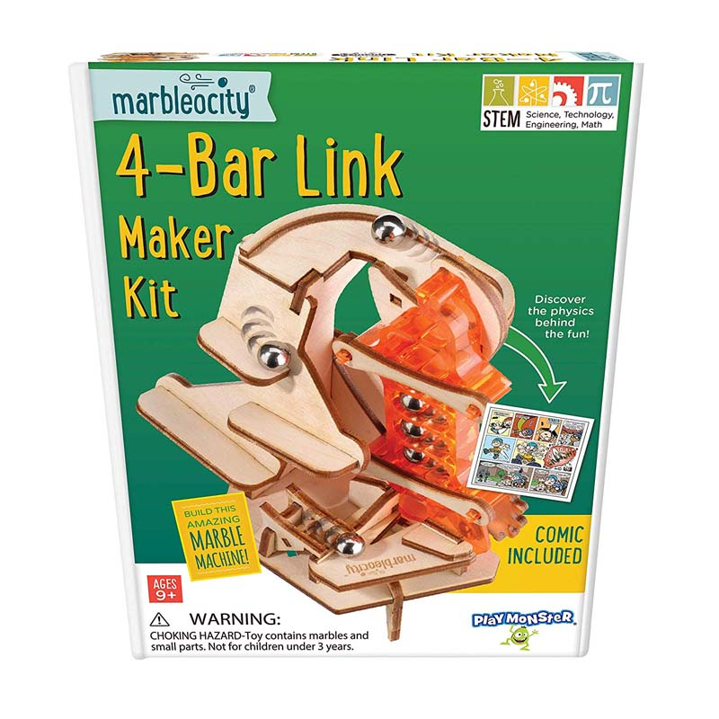 Marbelocity 4-Bar Link