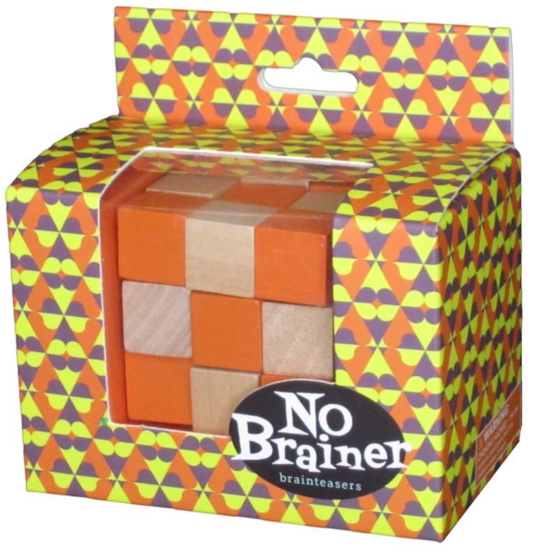 No Brainer - Orange Cube