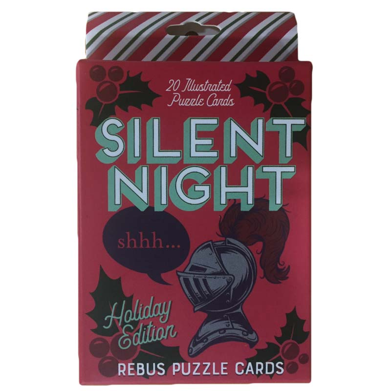 Rebus Cards - Holiday Puzzle Cards