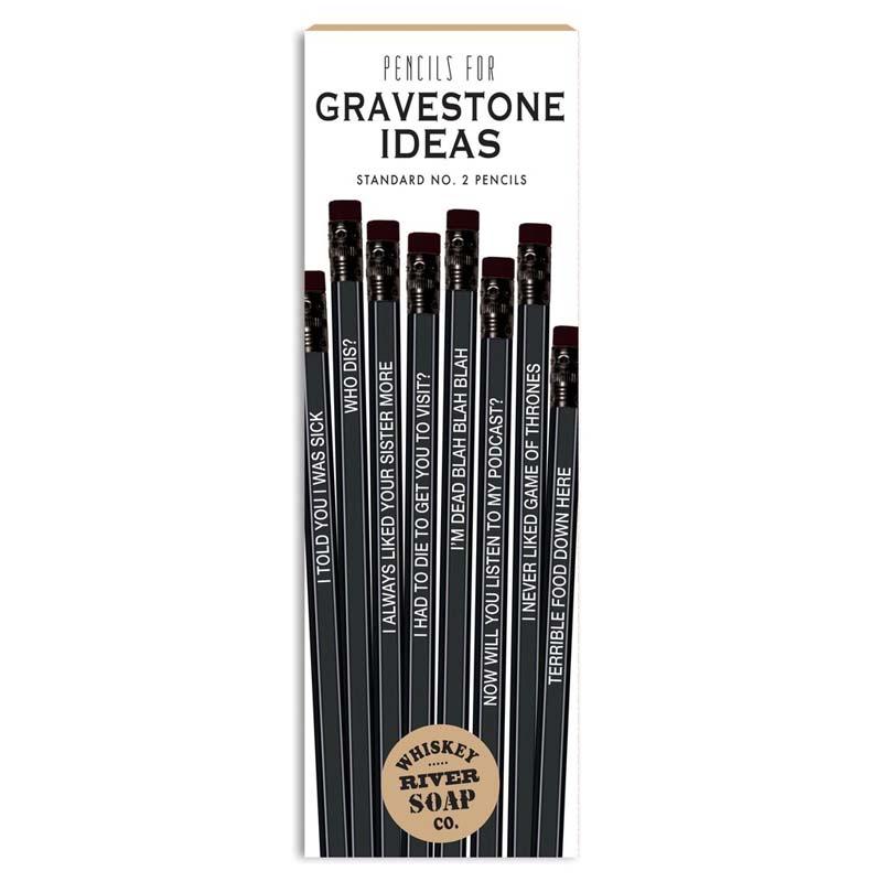 Pencils for Gravestone Ideas