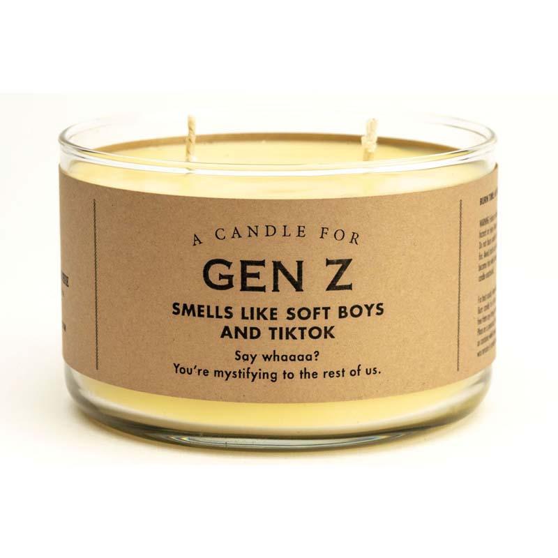 Gen Z Candle