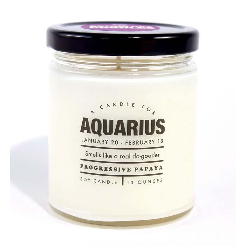 Aquarius - Astrology Candle