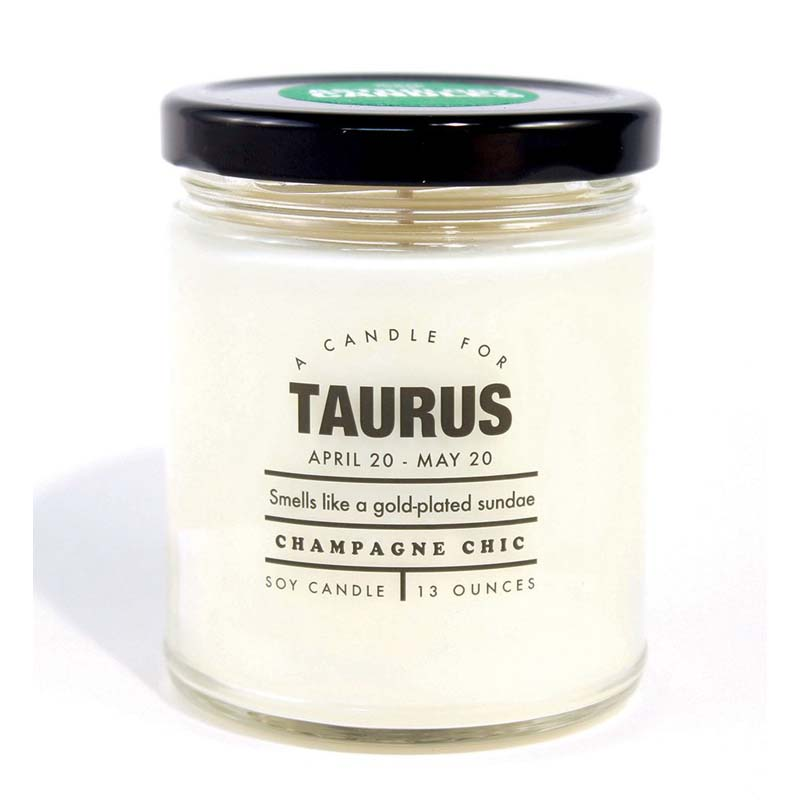 Taurus - Astrology Candle