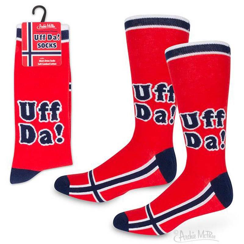 Socks - Uff Da Scandinavian Dismay
