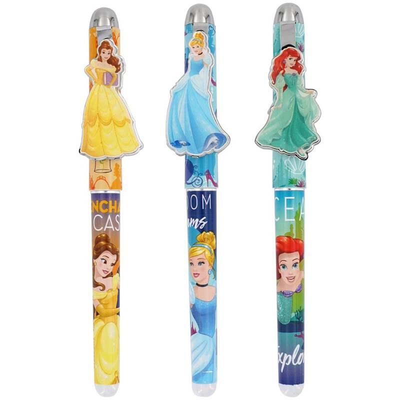 3 Pack Assorted Princess Metal Pen Set
