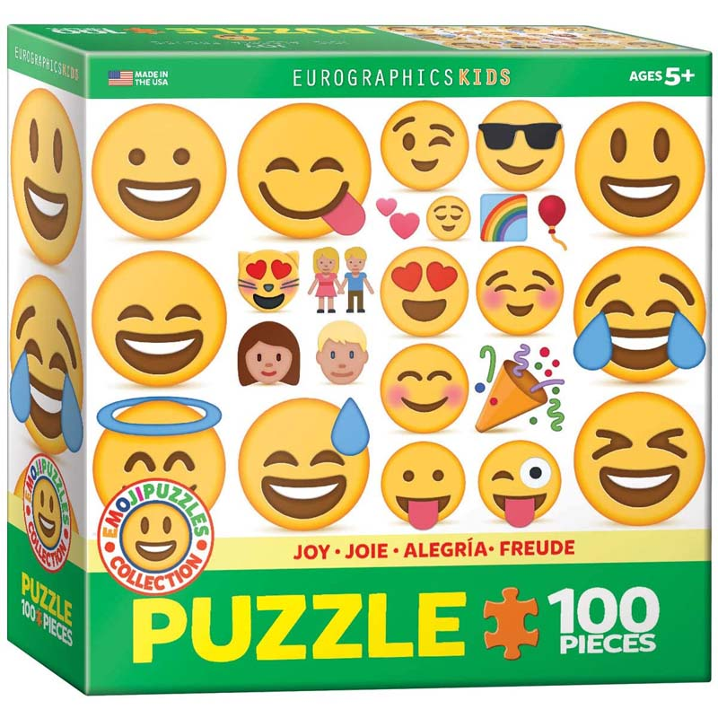 100 Piece Puzzle - Joy - Emoji