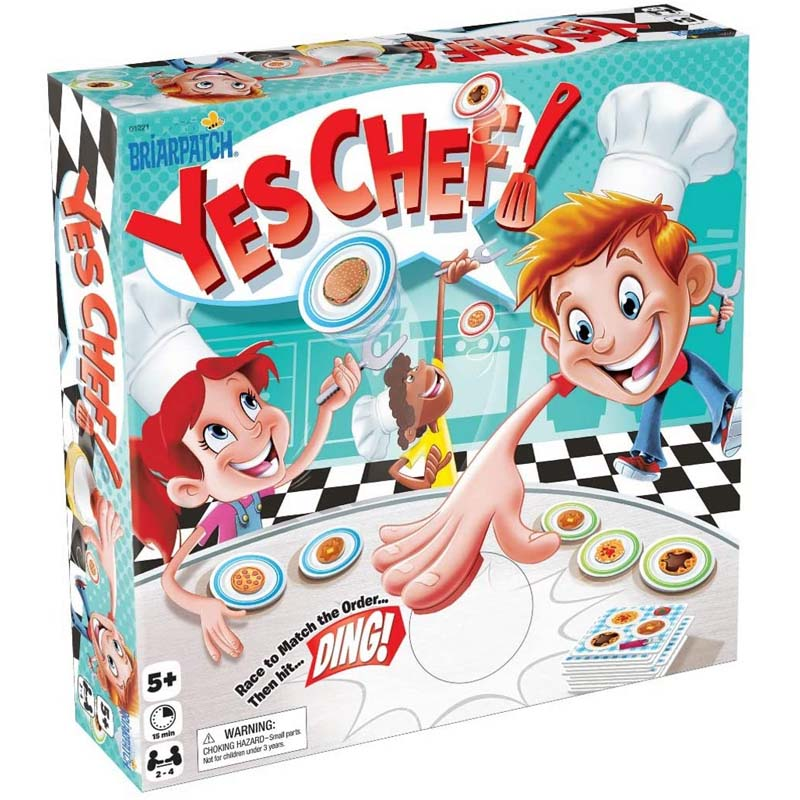 Yes, Chef! Matching Card Game